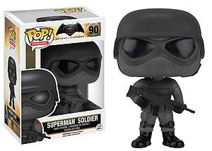 Pop! Heroes Batman v Superman Vinyl Figure Superman Soldier #90 (Sale)