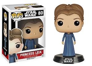 Pop! Star Wars The Force Awakens Vinyl Bobble-Head Princess Leia #80