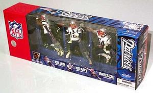 NFL New England Patriots (3-Pack)