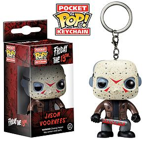 Pop! Pocket Keychain Friday The 13th Vinyl Figure Jason Voorhees