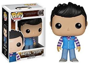 "Pop! Television Supernatural Vinyl Figure Castiel ""Steve"" #304 (Retired)"