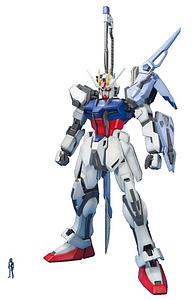 Gundam Master Grade 1/100 Scale Model Kit: GAT-X105 Launcher & Sword Strike Gundam