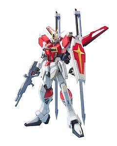 Gundam Master Grade Gundam Seed 1/100 Scale Model Kit: Sword Impulse Gundam