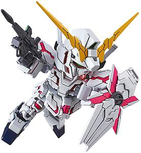 Gundam SD EX-Standard #005 Model Kit: Unicorn Gundam (Destroy Mode)