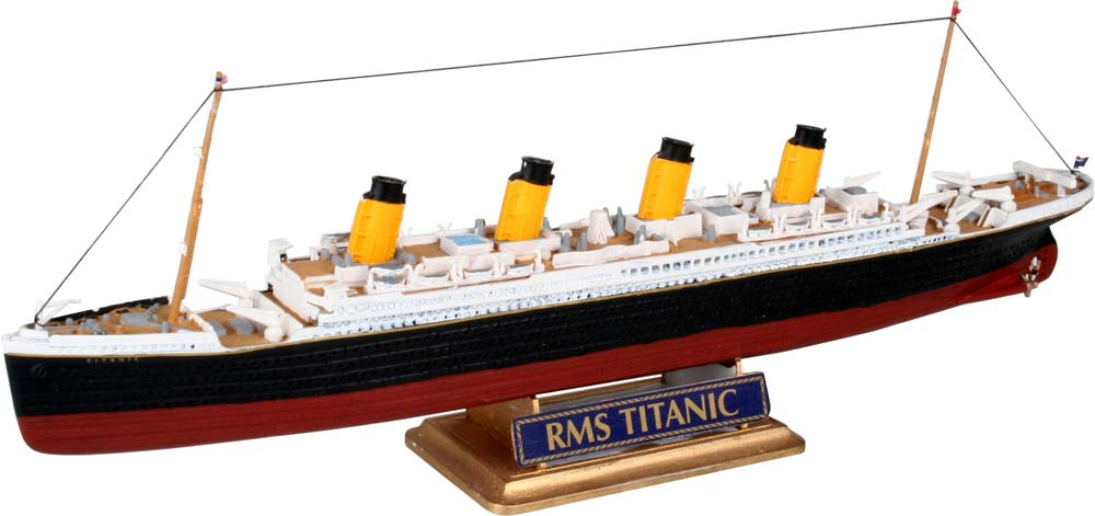 1:1200 Scale Model Kit: R.M.S Titanic