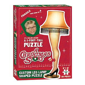 A 3-Foot-Puzzle: A Christmas Story