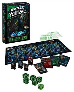 Battle Yahtzee: Alien vs. Predator