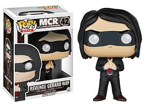 Pop! Rocks MCR (My Chemical Romance) Vinyl Figure Revenge Gerard Way #42 (Retired)