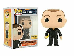 Pop! Television Doctor Who Vinyl Figure Ninth Doctor with Banana #301 Hot Topic Exclusive