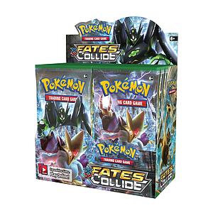 Pokemon Trading Card Game: XY10 Fates Collide Booster Box (36 Packs)