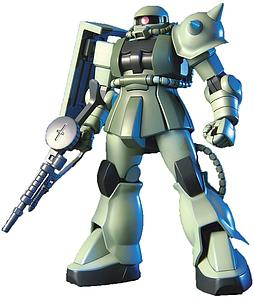 Gundam First Grade 1/144 Scale Model Kit: MS-06F Zaku II