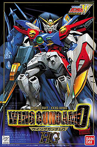Gundam High Grade Gundam Wing 1/100 Scale Model Kit: #04 XXXG-00W0 Wing Gundam Zero