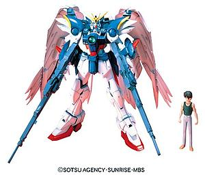Gundam High Grade Endless Waltz 1/100 Scale Model Kit: EW-2 W-Gundam Zero Custom