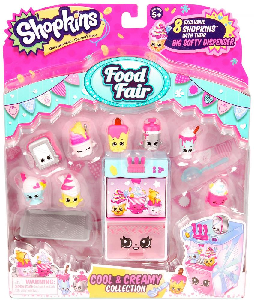 Shopkins Season 4 Figure Food Fair Cool Creamy Collection