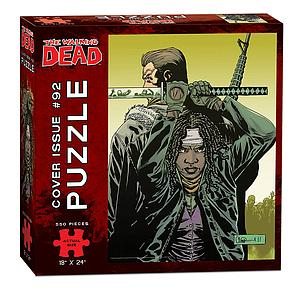 Puzzle: The Walking Dead Cover Issue #92