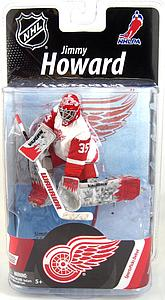 McFarlane NHL Sportspicks Series 27 Jimmy Howard (Detroit Red Wings) White Jersey Collector Level Bronze (Only 1500 Made)