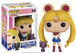 Pop! Animation Sailor Moon Vinyl Figure Sailor Moon & Luna #89