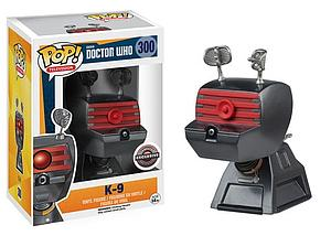 Pop! Television Doctor Who Vinyl Figure K-9 #300 Gamestop Exclusive (EB Games Sticker)