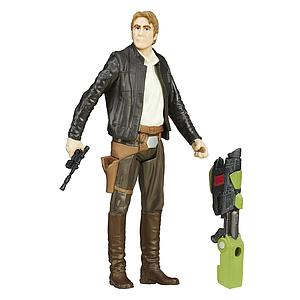"Star Wars The Force Awakens 4"" Action Figure Han Solo"