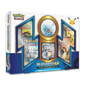 Pokemon Trading Card Game: Red & Blue Collection Blastoise-EX Box