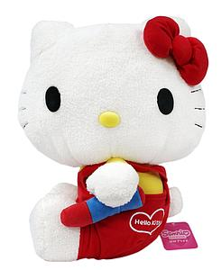 Sanrio Plush Hello Kitty Holding Crayon (15 Inch)