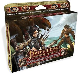 Pathfinder Adventure Card Game: Barbarian Class Deck