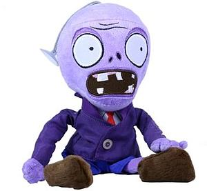 "Plants Vs Zombies Plush Purple Zombie (4"")"