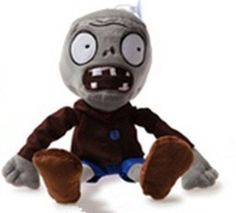"Plants Vs Zombies Plush Zombie (4"")"