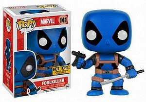 Pop! Marvel Vinyl Bobble-Head Foolkiller Deadpool #141 Hot Topic Limited Edition Exclusive
