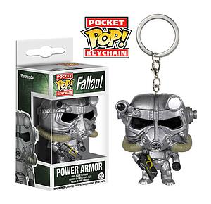 Pop! Pocket Keychain Fallout Vinyl Figure Power Armor