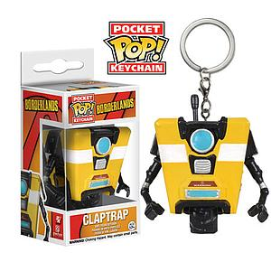 Pop! Pocket Borderlands Vinyl Figure Claptrap (Retired)