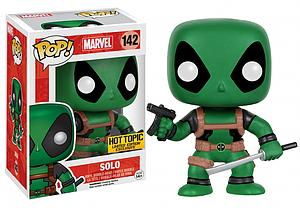 Pop! Marvel Vinyl Bobble-Head Solo Deadpool #142 Hot Topic Limited Edition Exclusive