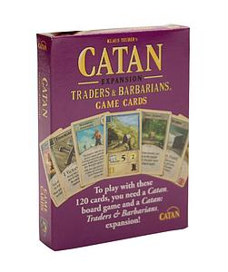 Catan: Traders & Barbarians Replacement Game Cards