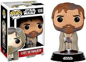 Pop! Star Wars The Force Awakens Vinyl Bobble-Head Luke Skywalker (Bearded) #106 (Vaulted)