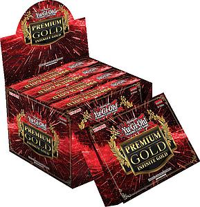 YuGiOh Trading Card Game Premium Gold 3: Infinite Gold Display (5 Mini Boxes)