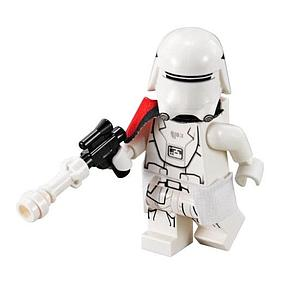 Star Wars Minifigure: First Order Snowtrooper Leader (SW-50)