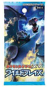 Pokemon Trading Card: XY Wild Blaze Booster Pack