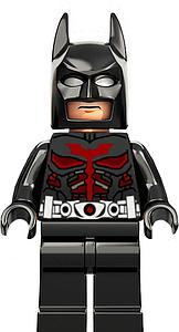 DC Comics SuperHeroes Minifigure: Batman [Dark Knight Beyond] (DC-20)
