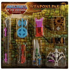 "He-Man & the Masters of the Universe Classics 6"": Weapons Pack"