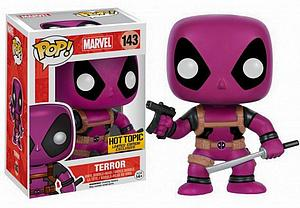 Pop! Marvel Vinyl Bobble-Head Terror Deadpool #143 Hot Topic Limited Edition Exclusive