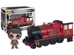 Pop! Rides Movies Harry Potter Vinyl Figurine Hogwarts Express Engine with Harry Potter #20 (Vaulted)