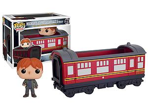 Pop! Rides Movies Harry Potter Vinyl Figure Hogwarts Express Carriage with Ron Weasly #21 (Vaulted)