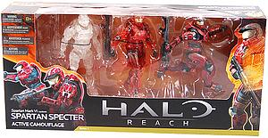Halo Reach 6 Inch Series 4 Three-Pack: Spartan Specter (Active Camouflage)