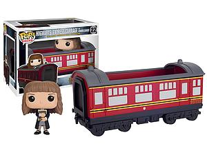 Pop! Rides Movies Harry Potter Vinyl Figure Hogwarts Express Carriage with Hermione Granger #22 (Vaulted)