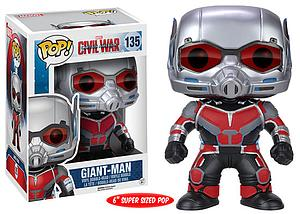 "Pop! Marvel Captain America Civil War Vinyl Bobble-Head 6"" Giant Man #135"