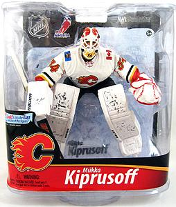 NHL Sportspicks Series 28 Miika Kiprusoff (Calgary Flames) White Jersey Exclusive
