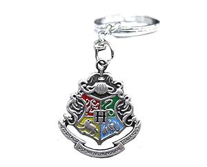 Harry Potter Keychain Hogwarts Houses Crest