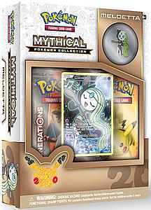 Pokemon Trading Card Game: Mythical Pokemon Collection - Meloetta