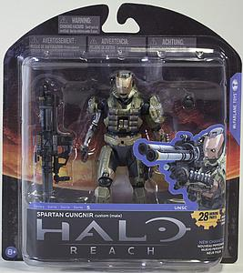 "Halo Reach 6"" Series 5: Spartan Gungnir custom (male)"