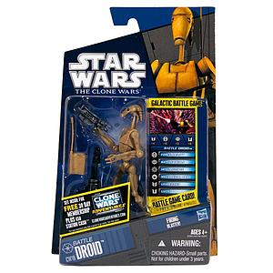 Star Wars The Clone Wars Battle Droid CW19
